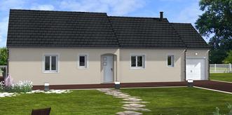 Le Poinconnet - maison + terrain