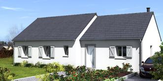 Coings - maison + terrain
